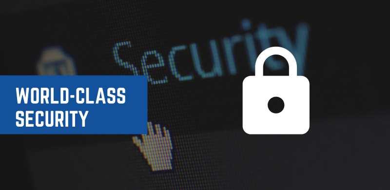 world-class security
